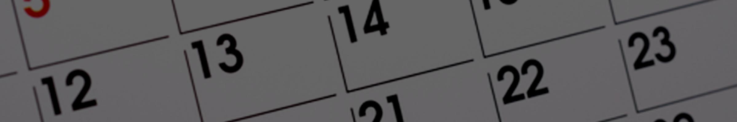 Calendar カレンダー